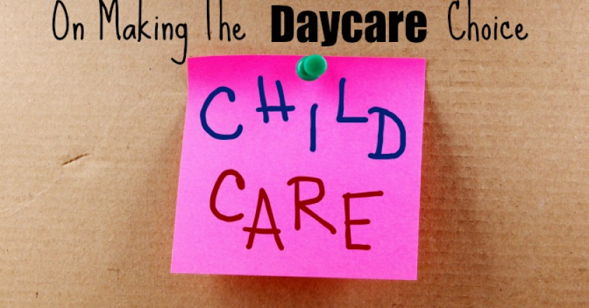 Baby Care in Daycare